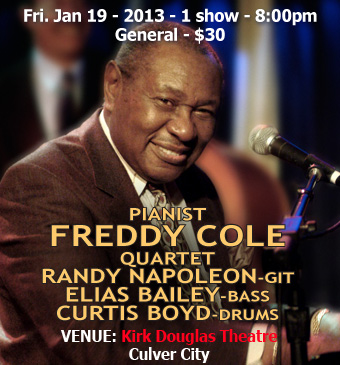 pianist Freddy Cole