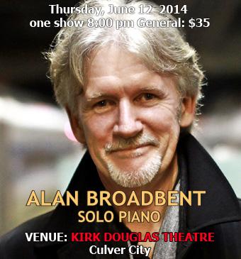 pianist Alan Broadbent