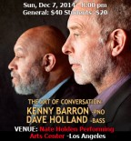 Kenny Barron and Dave Holland Duo