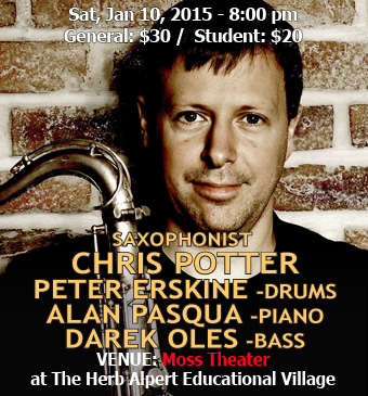 Chris Potter, Peter Erskine, Alan Pasqua, Darek Oles